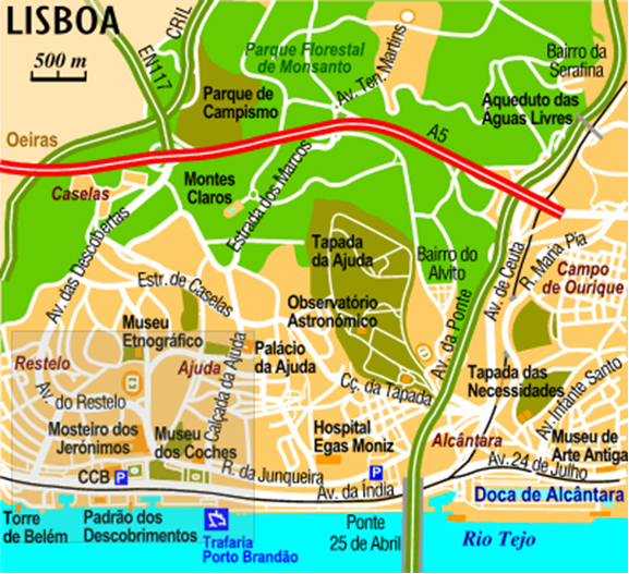 Images and Places Pictures and Info lisbon map tourist – Lisbon Tourist Map Printable